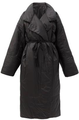 Norma Kamali Oversized Sleeping Bag Coat - Womens - Black