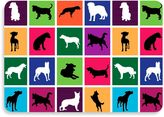 Bungalow Flooring 22-Inch x 31-Inch Dog Box Kitchen Mat