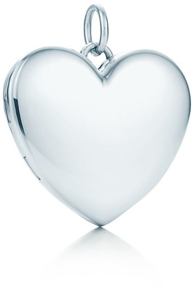 Tiffany & Co. Heart locket in sterling silver, large