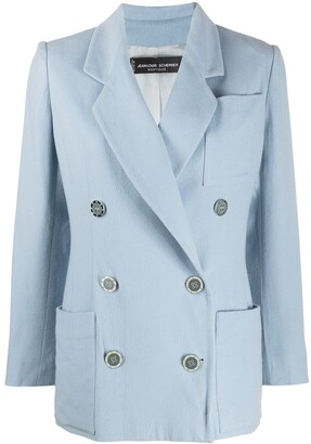 Jean Louis Scherrer Pre Owned 1990s Double-Breasted Jacket