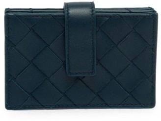 Bottega Veneta Intrecciato Multi-Slot Leather Card Case
