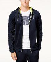 Armani Exchange Men's Zip-Front Hoodie