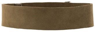 Manokhi Leather Choker
