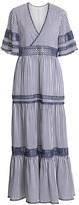 Jonathan Simkhai Montane Striped Beach Gown