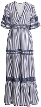 Jonathan Simkhai Montane Striped Beach Gown