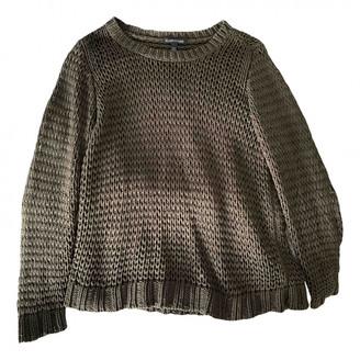Eileen Fisher Khaki Cotton Knitwear for Women