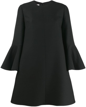 Valentino bell sleeve dress
