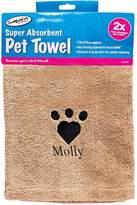 Very Personalised Super Absorbant Pet Towel