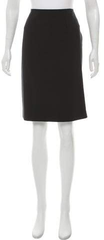 Theory Knee-Length Pencil Skirt