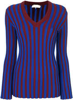 L'Autre Chose striped knitted jumper