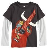 Tea Collection Toddler Boy's Highland Guitar Layer T-Shirt