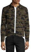 J Brand Gorn Trucker Camouflage Denim Jacket