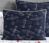 Pottery Barn Kids Braden Airplane Standard Sham