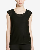 Lauren Ralph Lauren Mesh Short-Sleeve T-Shirt