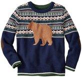 Boys Cozy Critter Sweater