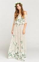 MUMU Hacienda Maxi Dress ~ Bouquet Toss