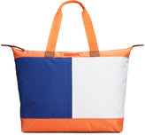 Tommy Hilfiger Colorblock Flag Top Zip Nylon Tote