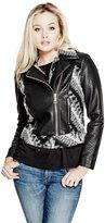 GUESS Dacey Moto Jacket