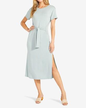 Express Bb Dakota Tie Front T-Shirt Dress