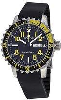 Fortis Marinemaster Black Dial Black Rubber Mens Watch 6702414K