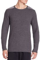 Ovadia & Sons Cable Knit Wool Sweater