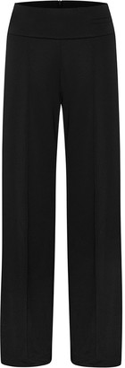 Esse Studios High Waisted Stretch Jersey Trouser