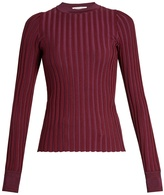 Altuzarra Regan round-neck ribbed-jersey sweater