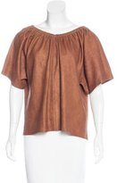 Humanoid Gemma Suede Top w/ Tags