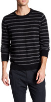 Nautica Long Sleeve Striped Sweater
