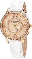 Stuhrling Original Women's 760.05 Symphony Analog Display Quartz White Watch