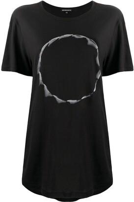 Ann Demeulemeester graphic-print cotton T-shirt