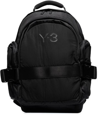 Y-3 CH2 buckle-strap backpack