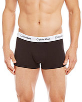 Calvin Klein Cotton Stretch 3-Pack Low-Rise Trunks