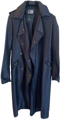 Lanvin Grey Silk Trench Coat for Women