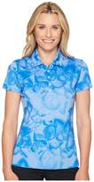 Puma Bloom Polo Women's Short Sleeve Pullover