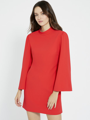 Alice + Olivia BAILEY BELL SLEEVE MINI DRESS