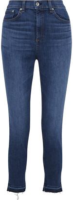 Rag & Bone The High Rise Ankle Skinny High-rise Skinny Jeans