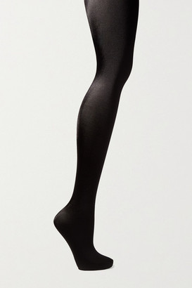 Wolford Satin De Luxe Tights - Black