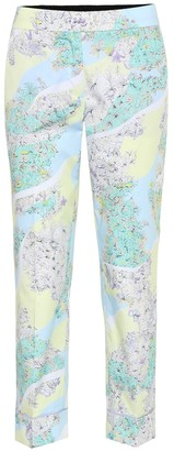 Emilio Pucci Printed cotton pants