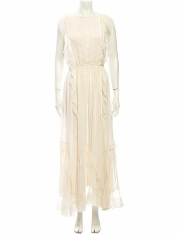 Thumbnail for your product : Ulla Johnson Silk Long Dress