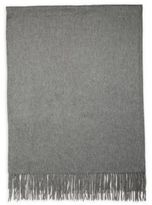 Saks Fifth Avenue Fringed Cashmere Throw