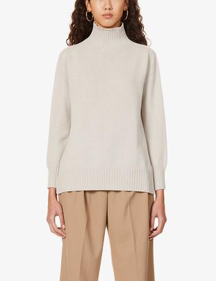 S Max Mara Gnomi turtleneck cashmere jumper