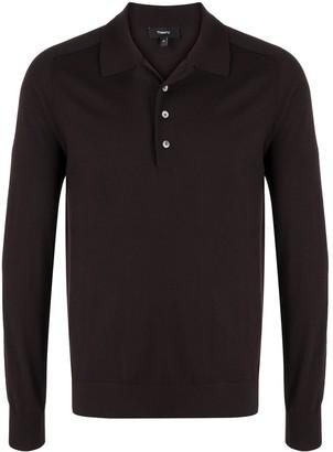 Theory Fine Wool Polo Shirt
