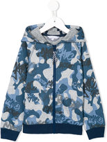 Little Marc Jacobs camouflage zipped hoodie