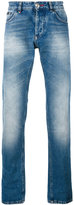 Philipp Plein faded straight-leg jeans - men - Cotton/Polyester - 30