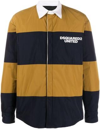 DSQUARED2 Striped Logo Shirt