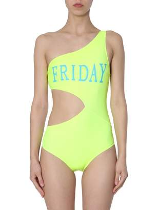 Alberta Ferretti Monday Cut Out Swimsuit