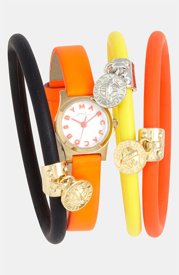 Marc by Marc Jacobs Silicone Stretch Bracelet