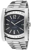 Bulgari Men's Assioma Mechanical/Automatic Ardoise Dial Stainless Steel