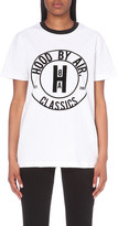 Hood by Air Cookie Ringer cotton-jersey t-shirt